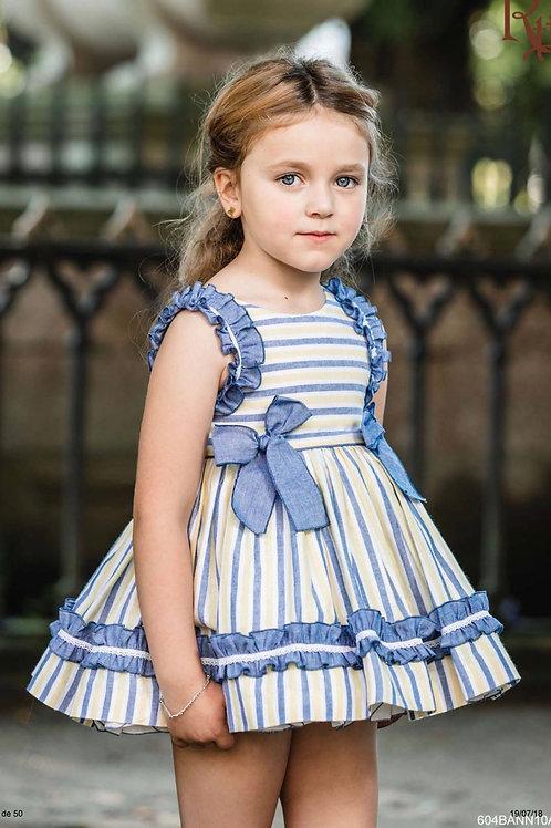Valeria Striped Ricittos Dress