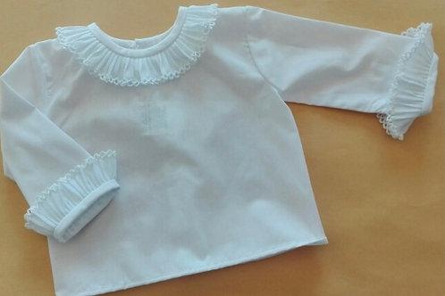 White frill shirt