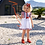 Thumbnail: Lara Red & White Stripe Dress