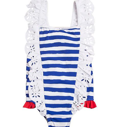 Marinera Striped Costume