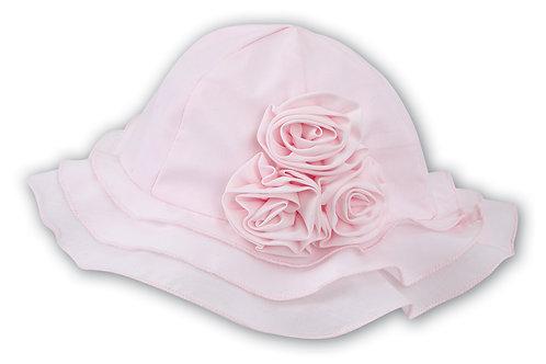 Sarah Louise Pink Sun hat