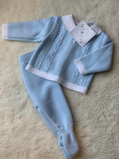 Luca 2pc knit set