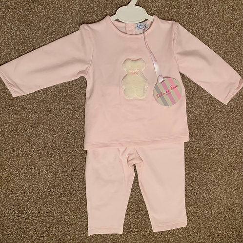 Pink Teddy lounge set