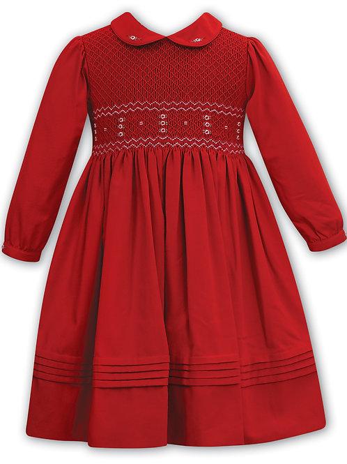 Red Smock Sarah Louise Dress