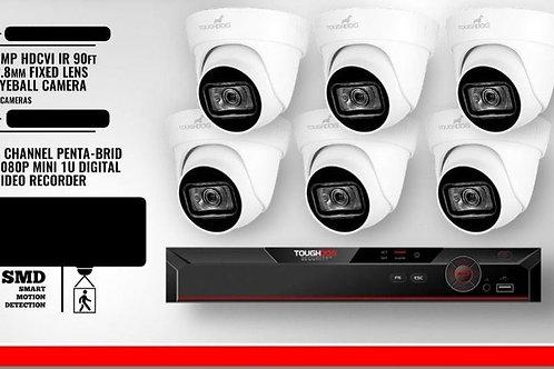 PKT 1 DVR 1TB, 6 Cameras