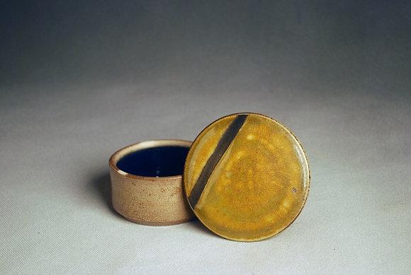 Maya Machin - French Butter Dish - Stripe