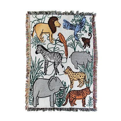 Calhoun & Co - Into the Jungle Mini Blanket