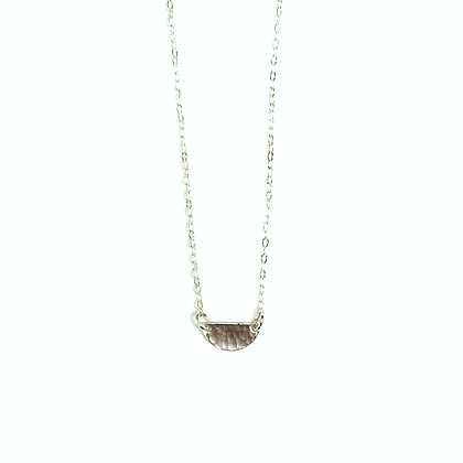 Jessica Russell - Sterling Half Circle Necklace