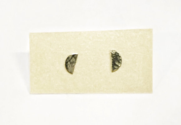 Jessica Russell - Sterling Half-Moon Earrings