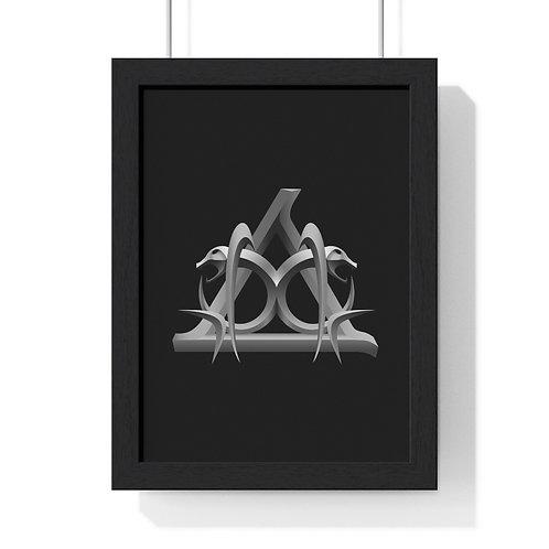 AKK Premium Framed Vertical Poster