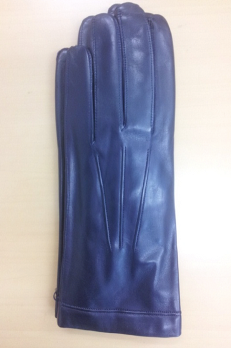 Leather gloves(パープル)