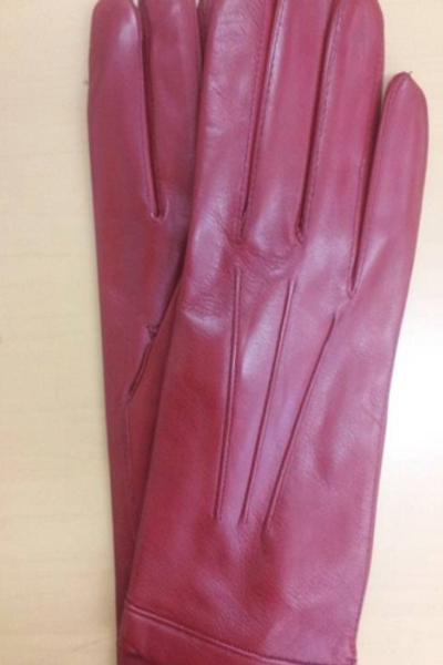 Leather gloves(レッド)