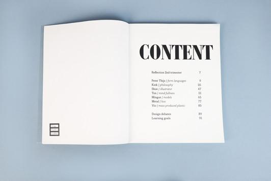 Processbook 2nd trimester content