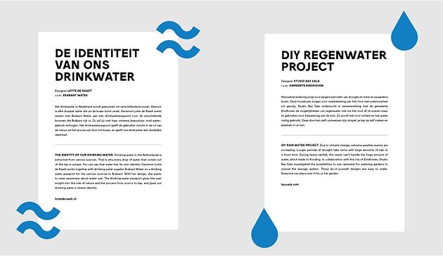 expositie embassy of water / waterambassade 2019 DDW