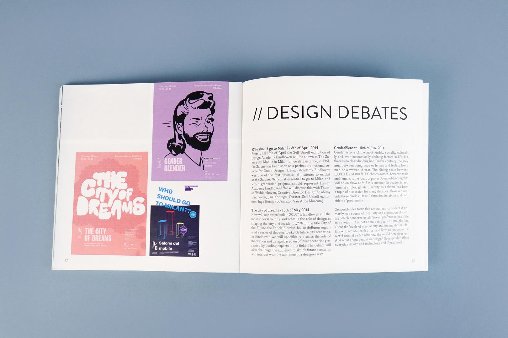 Processbook design debates