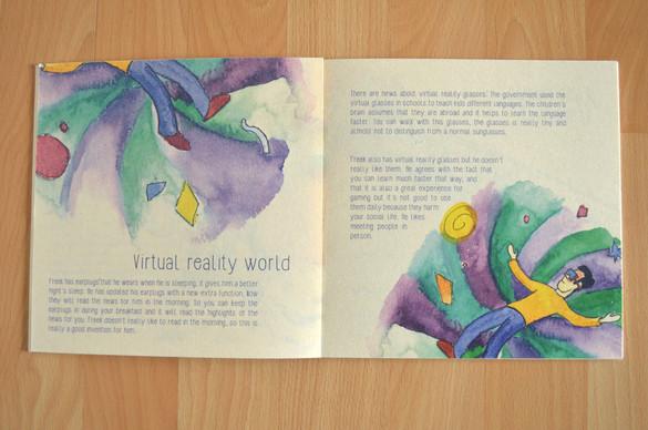 Verhaal 'Virual reality world'