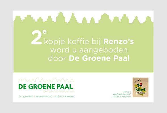 De Groene Paal advertentie