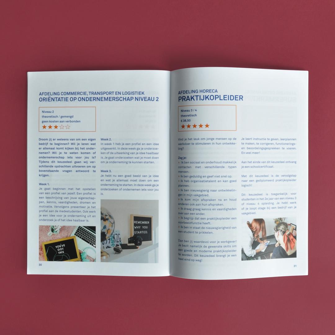 Horizon college brochure