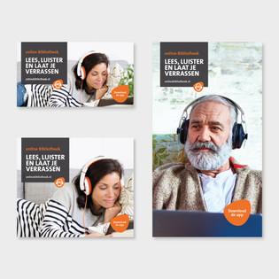 online bibliotheek banners