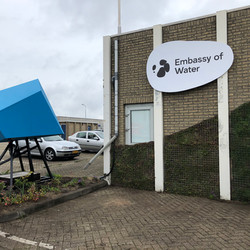 Expositie embassy of water, Dutch Design Week 2019