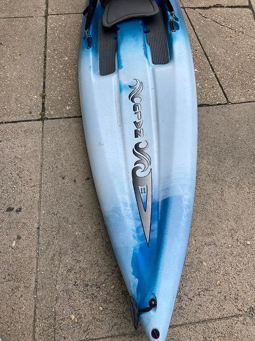 Ocean Kayak Nalu 11 : Stand Up Paddle Board Hybrid w/ Seat
