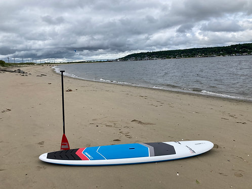 """USED -11'6"""" SIC MAUI Tao Surf x 32.5 SUP Stand up paddle board + paddle"""