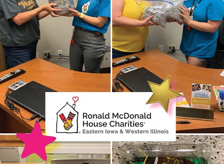 Giving Back to Ronald McDonald House Charities of Iowa City