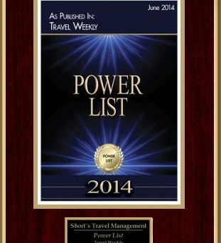 Travel Weekly's 2014 Power List
