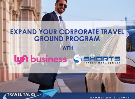 Expand Your Corporate Travel Ground Program with Lyft Business Solutions and STM