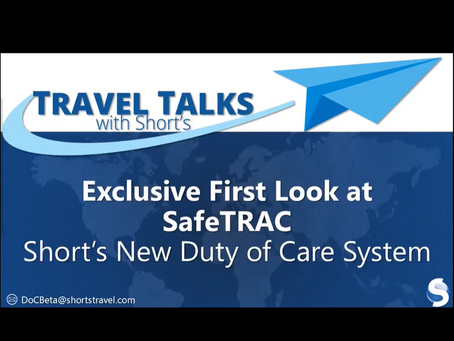 Exclusive First Look at SafeTRAC, Short's New Duty of Care Solution
