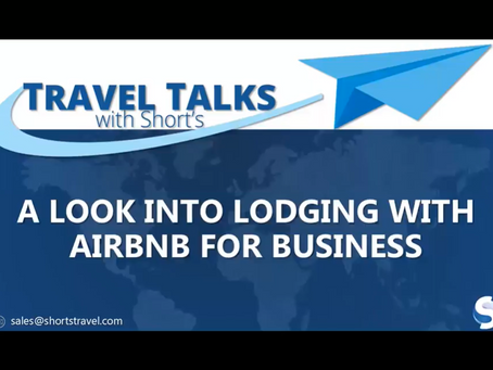 A Look into Lodging with Airbnb for Business – A Complimentary Webinar