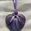 Thumbnail: Purple Rustic Wooden Heart