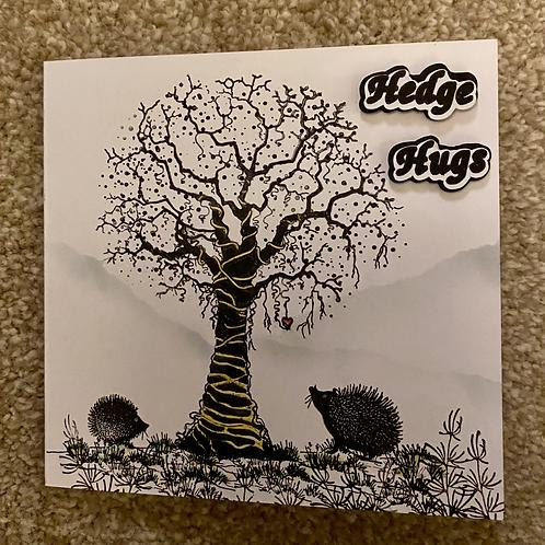 Hedge Hugs 1 Greeting Card