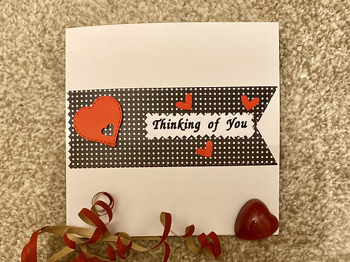 Thinking Of You Valentine's Card