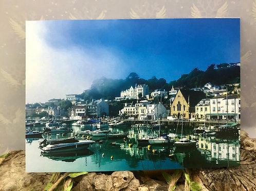 Postcard St Aubin's Harbour