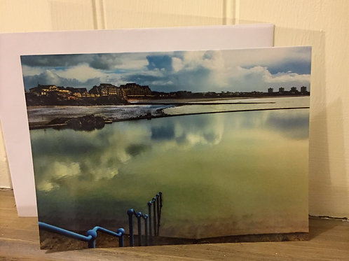 Havre De Pas Greeting Card