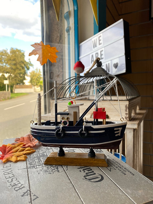 Fishing Boat Ornament