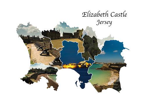 Elizabeth Castle Greeting Card