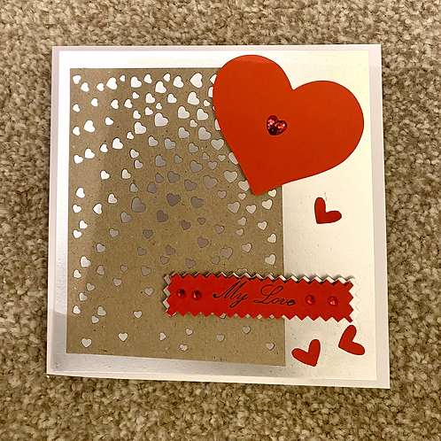 My Love Valentine's Card