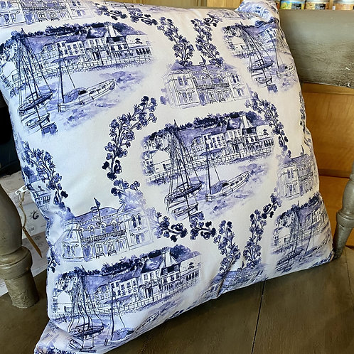 St Aubin Harbour Cushion