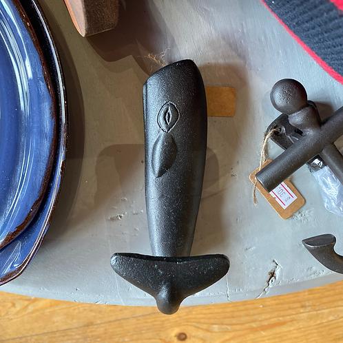 Whale Metal Coat Hook