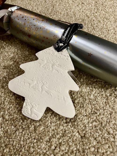 Clay Christmas Tree Decoration