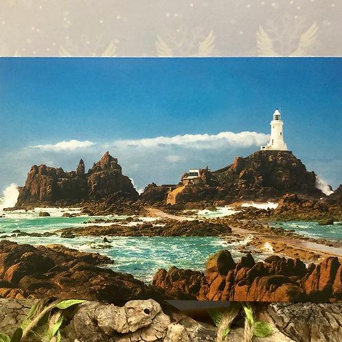 Postcard Corbiere Lighthouse