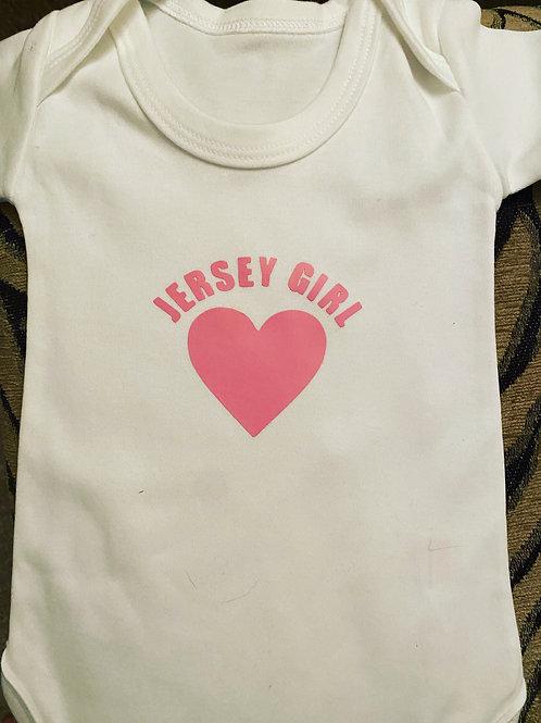 Baby Vest - Jersey Girl