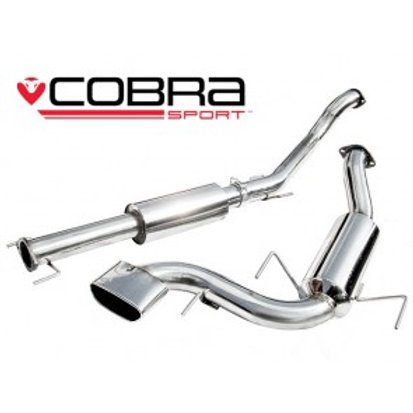 "ASTRA VXR Cat Back Exhaust (3"" bore) (Resonated)"