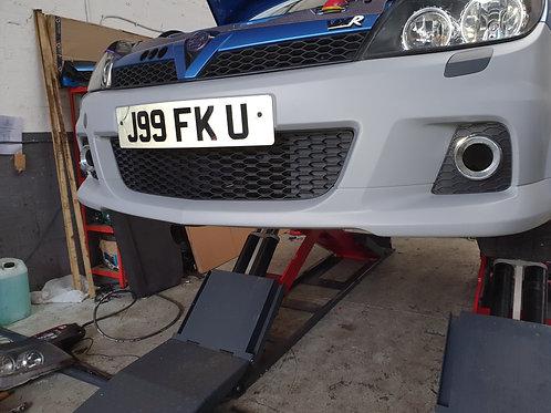 Astra vxr front bumper in primer only