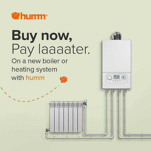 Get your boiler or heating system replaced with Newgasboilers.ie and pay later with Humm Finance