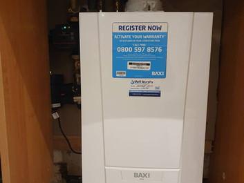 Gas Boiler Upgrade to BAXI ECO BLUE