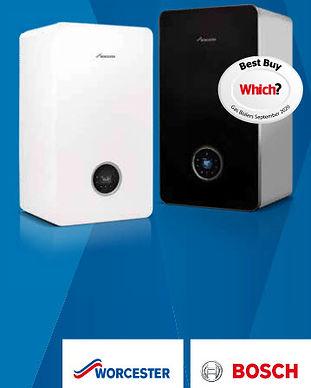 Worcester Bosch Boiler with Newgasboilers.ie