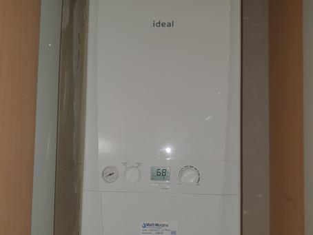 Ideal Logic Gas Boiler Upgrade in Blessington